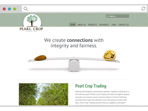 Pearl Crop Trading Website