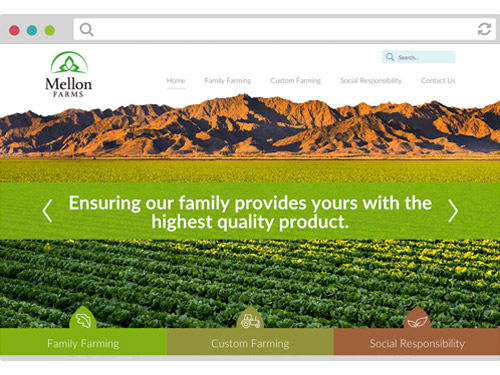 Mellon Farms Website