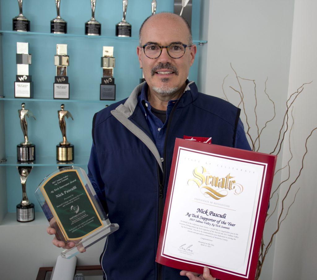 TMD's Nick Pasculli Receives Ag Tech Innovator Award